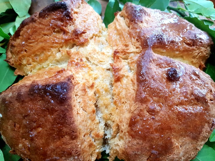 Irish soda bread....simply divine!