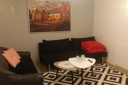 Cosy and central located apartment close to nature - Kópavogur - Wohnung