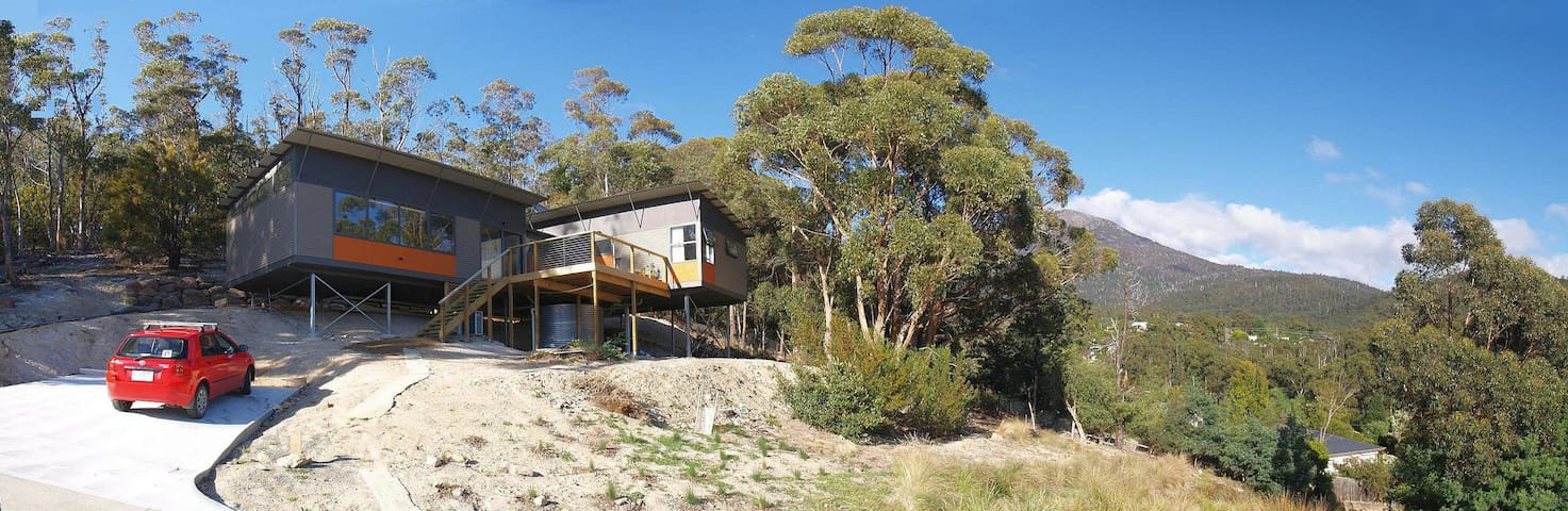 Peaceful room with wallaby views - South Hobart - Casa