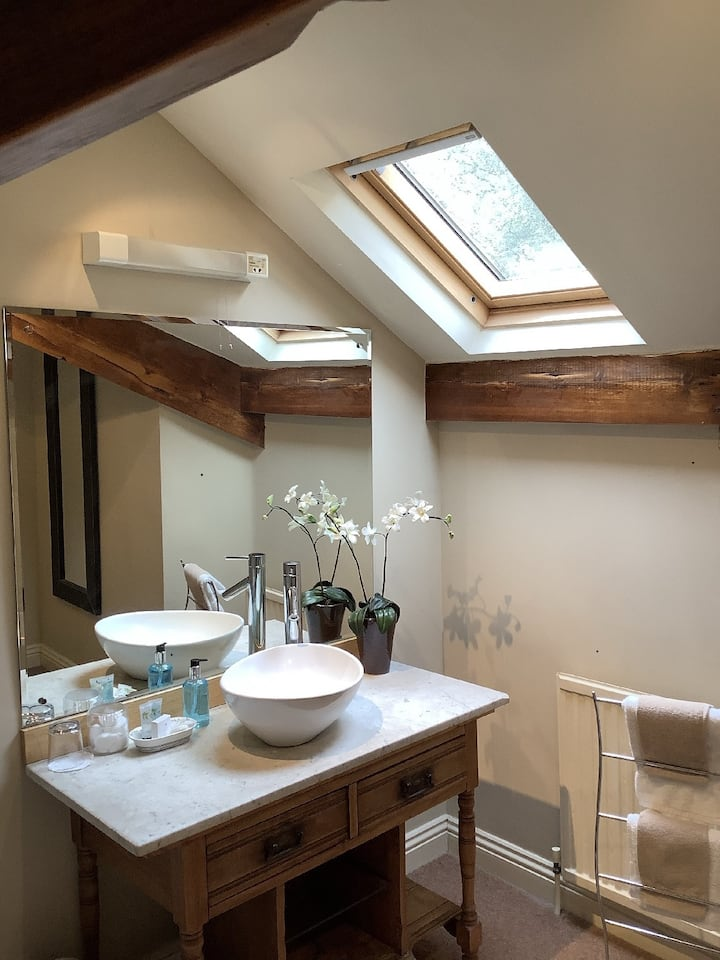 Large Ensuite Attic Room - Alexandra Court