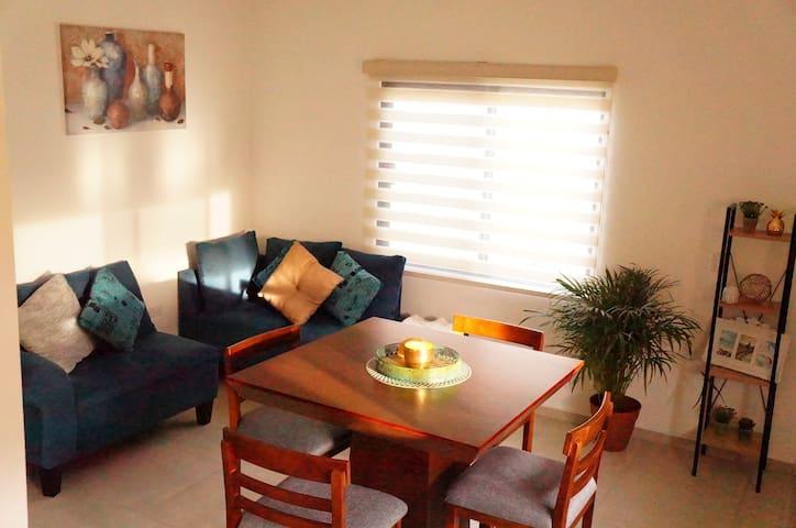 Amplio y cómodo apartamento en Zona central