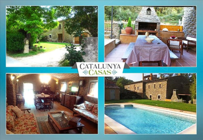 Fantastic La Foixa getaway for 8 people, only 15km from Girona - Gerona