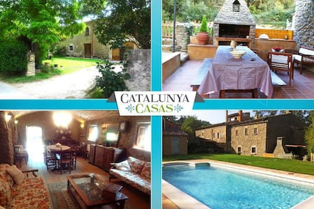 Fantastic La Foixa getaway for 8 people, only 15km from Girona - ジローナ - 別荘