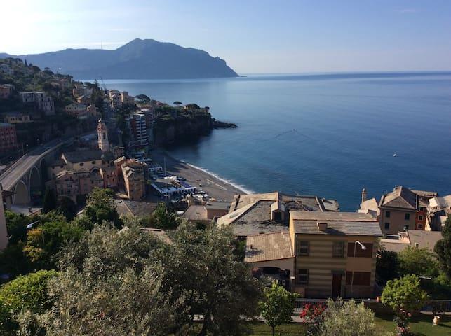 Appartamento con vista mare Sori, Genova