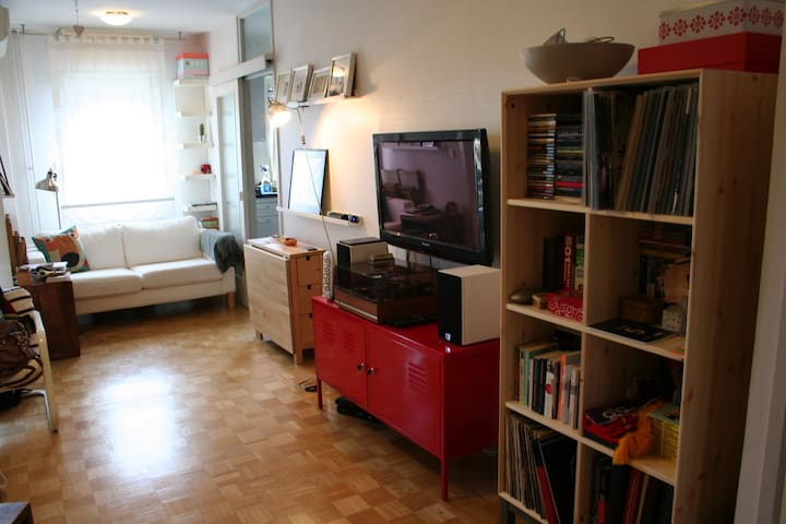Spacious studio- home away from home - Zagreb - Apartamento