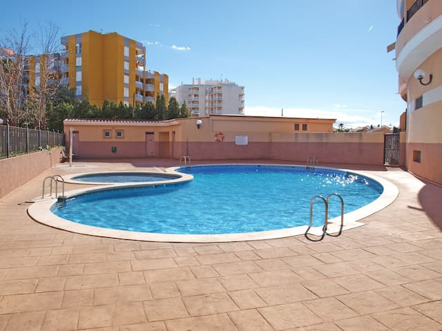 ApartUP Canet Beach I. Pool + PK - Canet d'En Berenguer - Apartamento