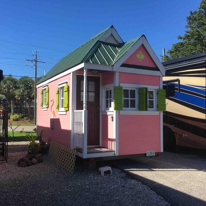 Flamingo Tiny House Next To Sanibel Island