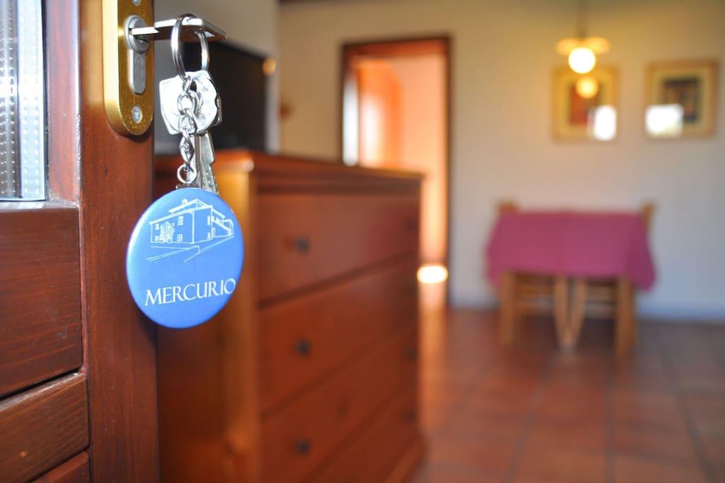 Apartment Mercurio living room