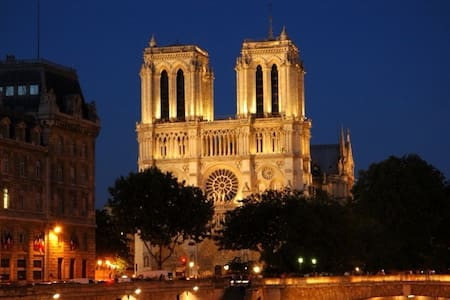 Notre Dame,Le Louvre,Saint Michel.. - 巴黎 - 公寓