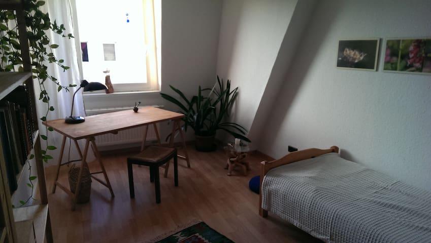 Gemütliches Zimmer unterm Dach - Halle (Saale) - Lejlighed