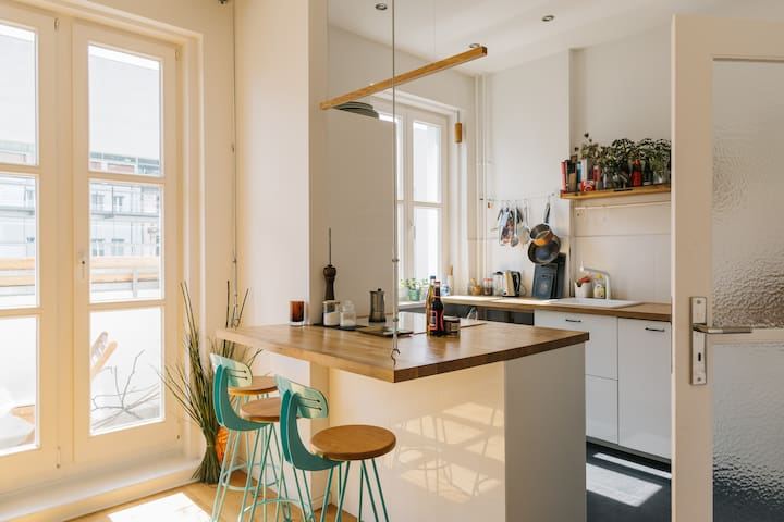 Modern apartment in the center of Berlin