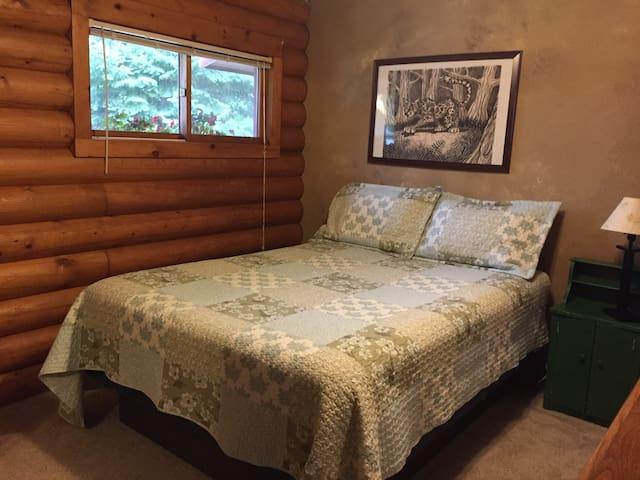 Upstair's Bedroom #3 Queen Size Bed