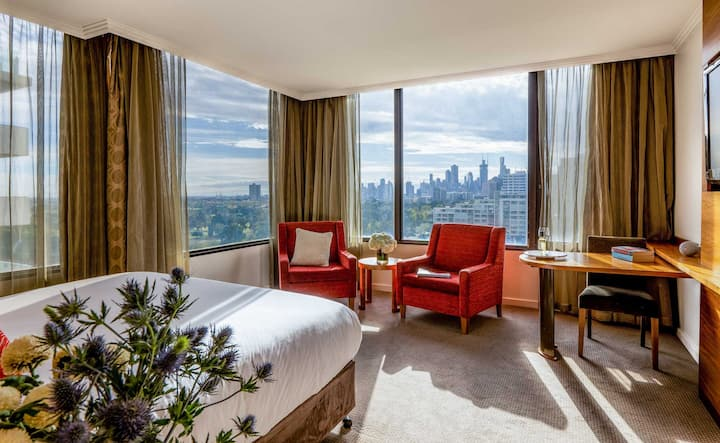 City View Deluxe Rooms at View Melbourne