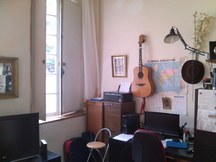 Bureau PC, imprimante..