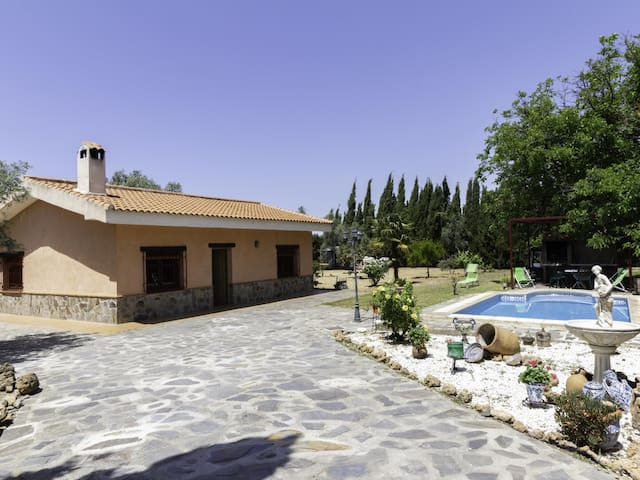 Andalusian rustic farmhouse with private pool and wifi