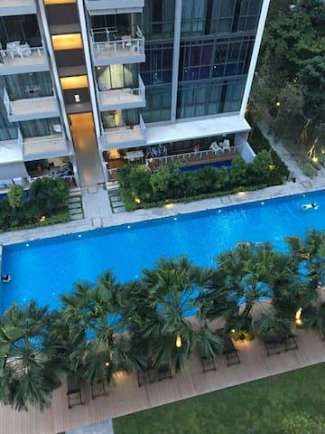 Beautiful Cozy Condo near MRT - Singapura