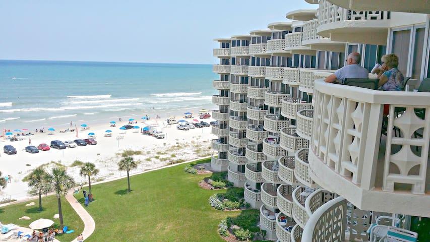 """""""The Lighthouse"""" condo at Golden Arms Condominiums - New Smyrna Beach - Condo"""