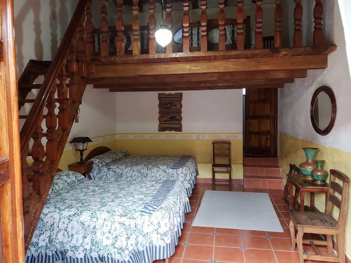 Habitación Tlachiqueros-Hacienda San Buenaventura