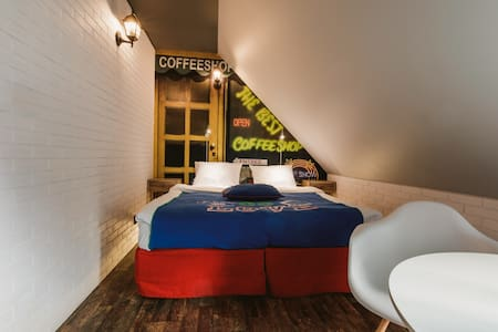 Pokój Amsterdam dla pięciu osób