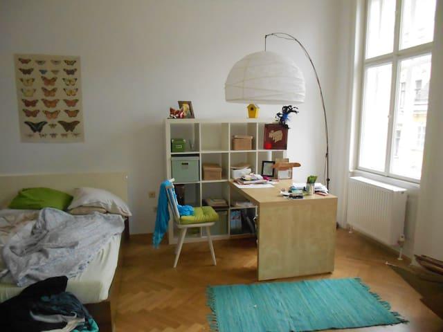 Zimmer in familiärer Altbauwohnung - Viyana - Daire