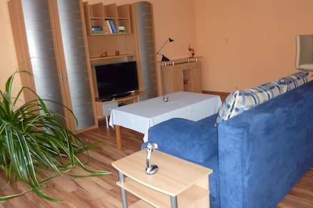 Komfortable 1-Zimmer Apartment am Elberadweg - Bleckede - Appartement