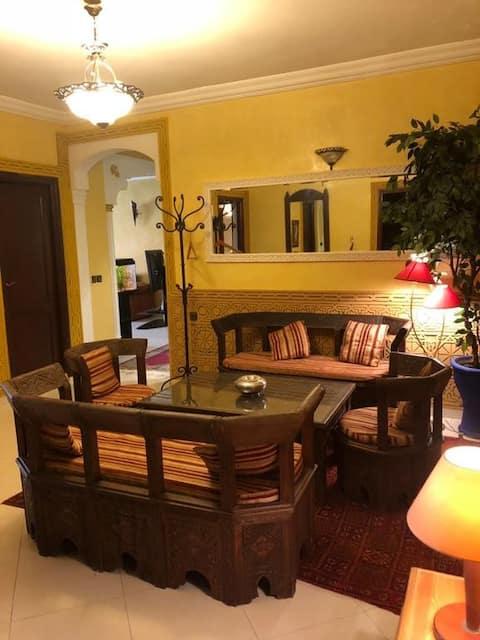 Appartement meublé a Settat très calme