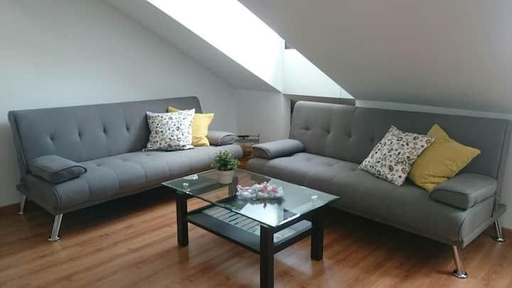 Amplio, luminoso y céntrico apartamento