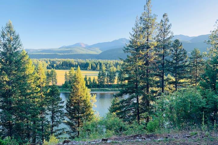 Serenity Place on the Kootenai River