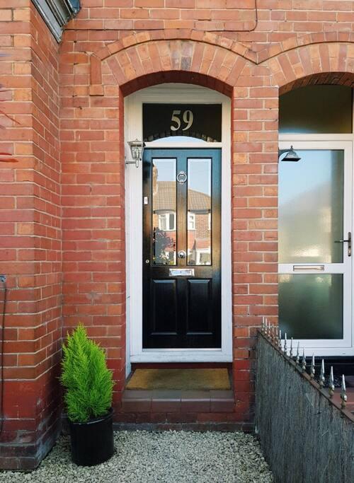 Hardwood Victorian style door