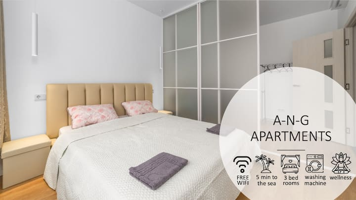 Arcadia, 3 rooms, WiFi , parking, 443