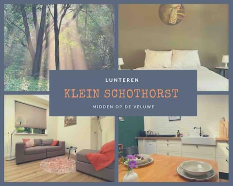 """""""Klein Schothorst"""" en zona boscosa"""