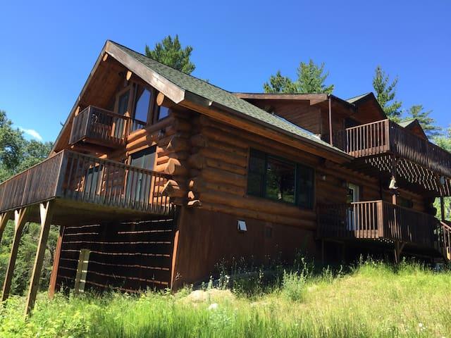 BWCA Nels Lake Lodge 2100 sq ft 3+2 - Ely - Kisház