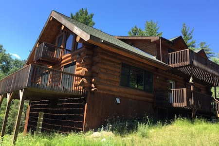 BWCA Nels Lake Lodge 2100 sq ft 3+2 - Ely - Blockhütte