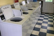 washers in the laundry room