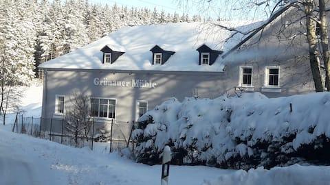 Wohnen in einer Alten Mühle