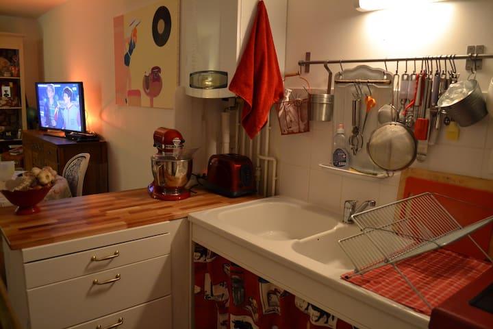 Joli studio proche Bordeaux - Villenave d'or non - Apartemen