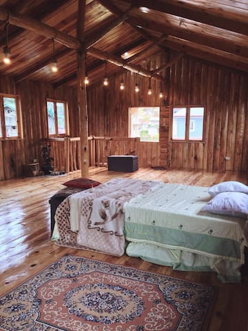 Rustic Log Cabin nestled in the heart of Sagada - Sagada - Houten huisje