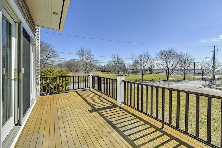 NEW! 5BR Marion House w/ Ocean Views & Large Deck!