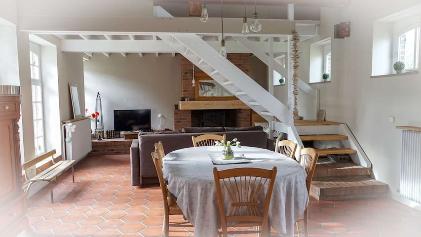 Gite de charme, la FERME D'OZ - Sailly-sur-la-Lys - Natuur/eco-lodge