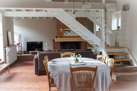 Gite de charme, la FERME D'OZ - Sailly-sur-la-Lys - Nature lodge