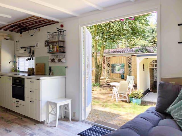 Vakantiehuisje Veluwe, De Eekhoorn 10 in Putten