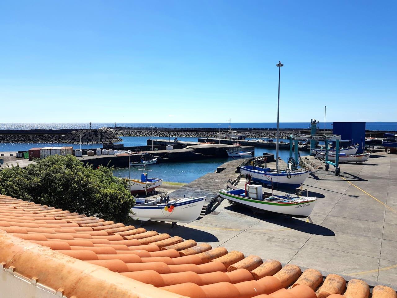Vista do Porto de Pescas