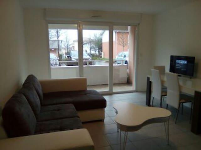 F2 de standing Piscine et terrasse - Dax - Apartment