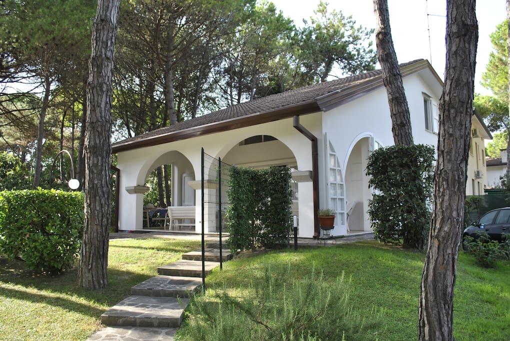 Villa Alba Lignano Pineta Case Vacanze In Affitto A