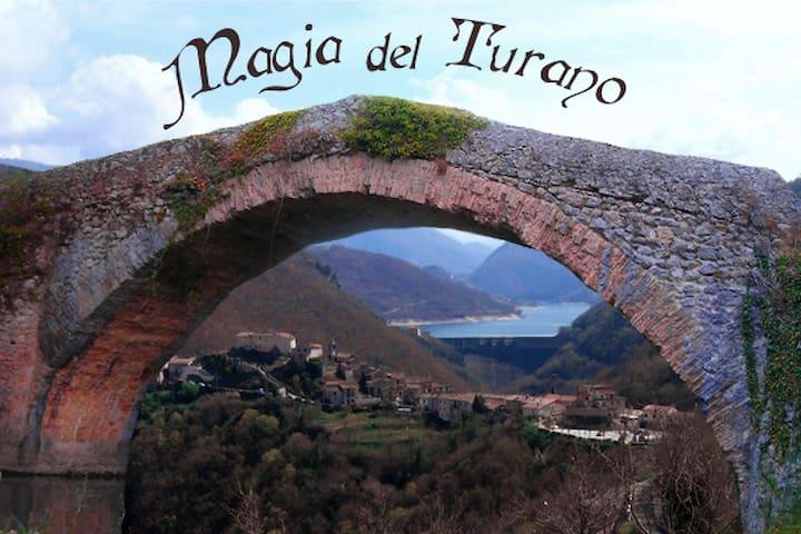 Magia del Turano - Posticciola - Гестхаус