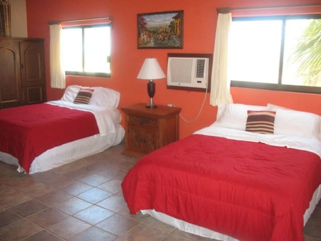 Hacienda de Palmas: Room #1 Grande with two queen size beds