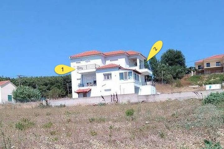 Υπεροχο διαμερισμα 75τμ με δυο υπνοδωματια σαλονι - Nea Koutali - Квартира