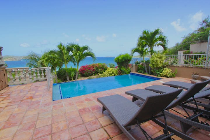 Surf Sounds and Big Views from this Pool Villa