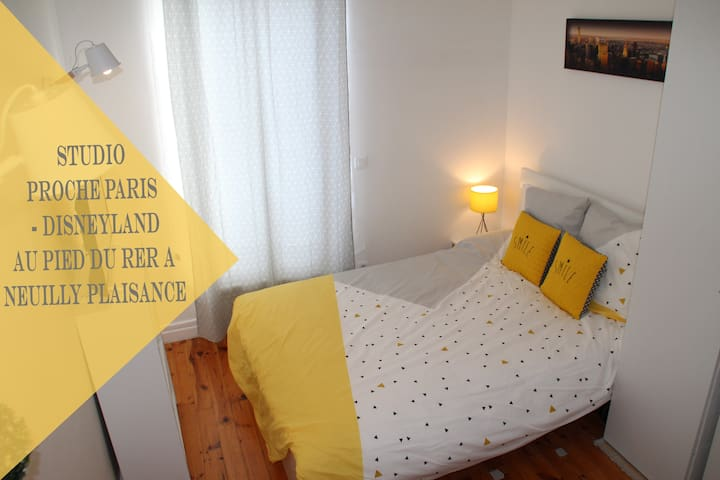 Studio near Paris Disneyland - Neuilly-Plaisance - Apartament