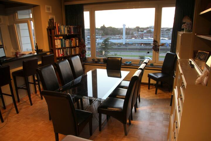 Bright apartment close to the city of Antwerp